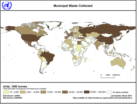 United Nations Statistics Division - Environment Statistics