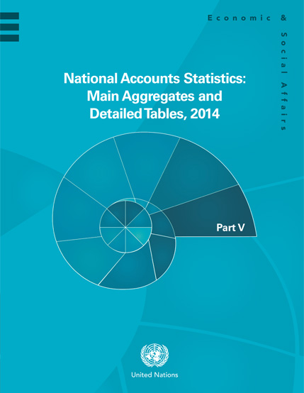 National Accounts Statistics: Main Aggregates and Detailed Tables, 2014